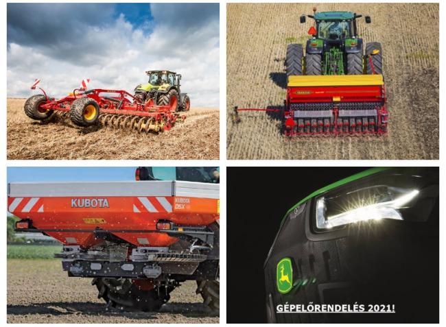Mindentudó gabonavetőgép-család, új Kubota kompakt traktor és a 240 éves Lemken
