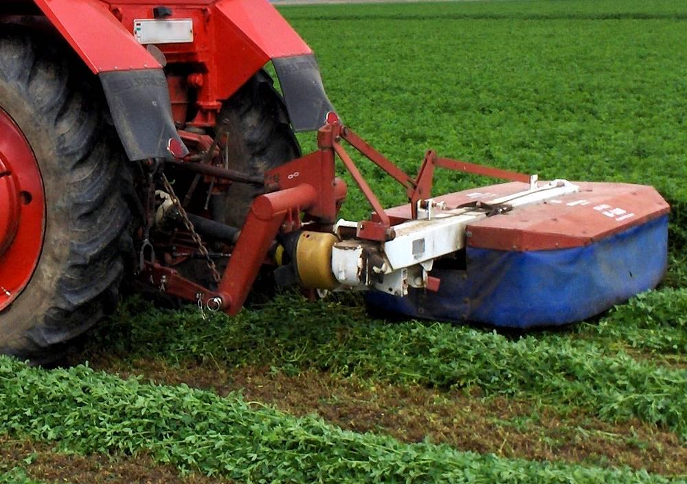 Agrár könyezetgazdálkodás AKG - kaszálás