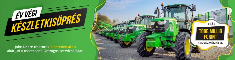 akciós John Deere traktor