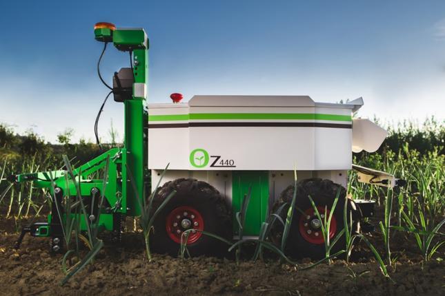 Naio robotok az agráriumban