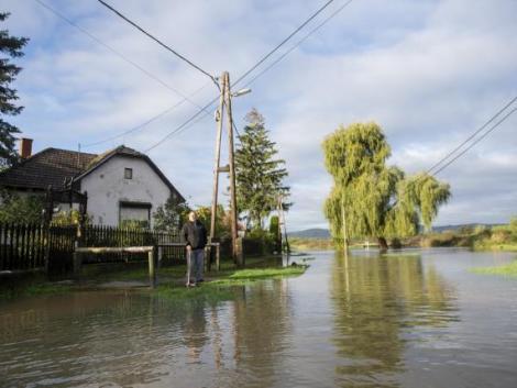 Áradnak a folyók a rengeteg eső miatt