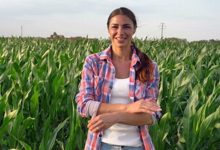 női gazdálkodó