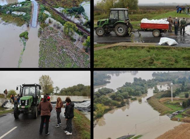 Árvíz: Ma is traktorral kellett vinni az élelmet több településre