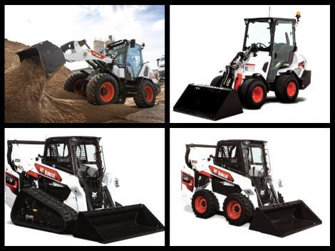 Bobcat rakodógép-újdonságok az agrárium számára!