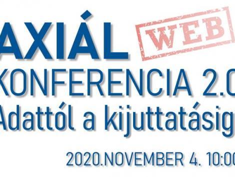 AXIÁL Webkonferencia 2.0 - Adattól a kijuttatásig!