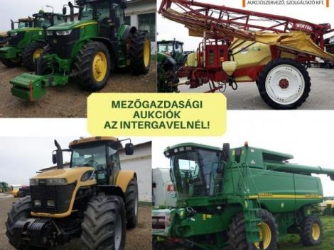 Rengeteg mezőgazdaságigép-árverés egy helyen!