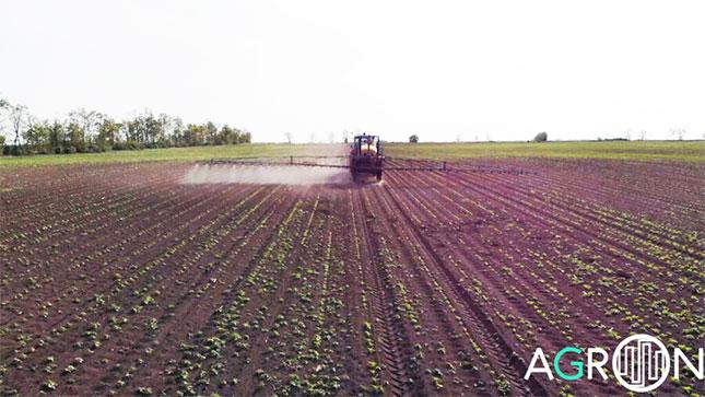mezőgazdasági drón