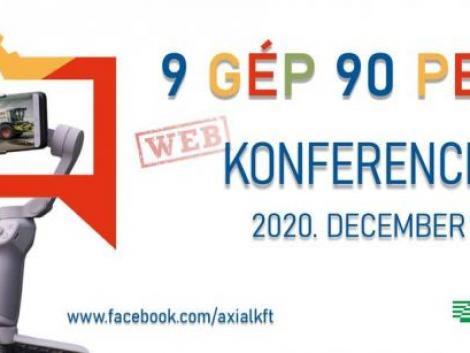 9 gép 90 perc – AXIÁL Webkonferencia 3.0