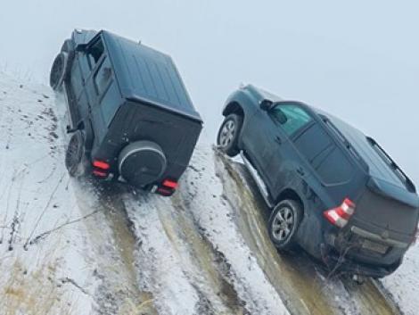 Az orosz tél a legkeményebb terepjárókat is próbára teszi – VIDEÓ