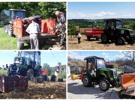Ebben a faluban a polgármester a traktorokhoz is ért! Miért fontos az önsúly, a fékrendszer és a fülke? – KÉPEK