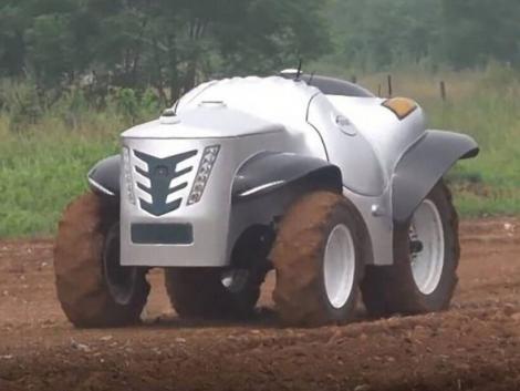 Az első hidrogén meghajtású önvezető traktor Kínából – VIDEÓ