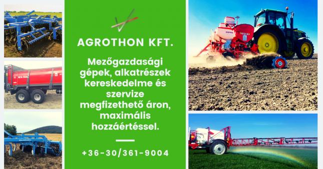mezőgazdasági gépek, alkatrészek