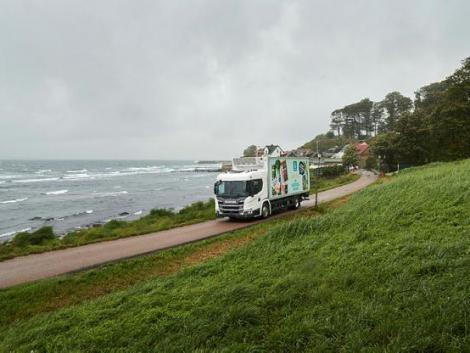 Trágyából előállított biogázüzemű teherautókra vált egy finn tejipari óriás