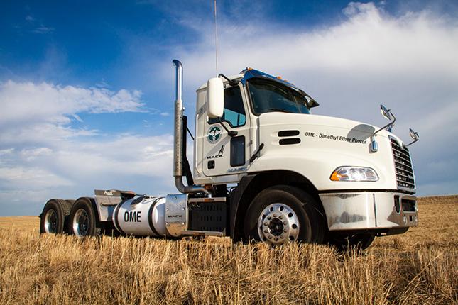 DME üzemű kamion