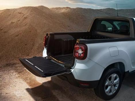 Dacia Duster pickup – kisszériás mindenes egyedi kivitelben