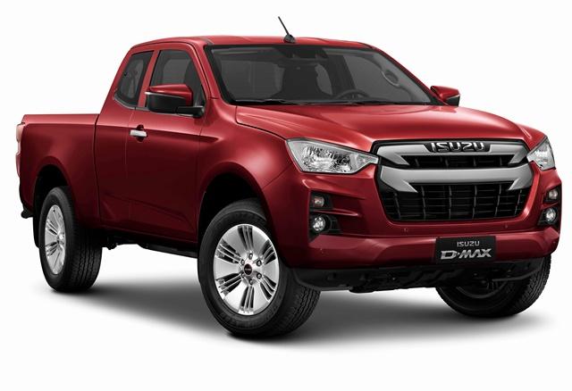 A pickup maximális fékezett vontatmány 3,5 tonna lehet.