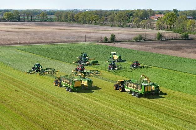 Krone mezőgazdasági gépsor