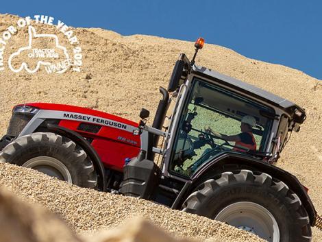 Megérkezett Magyarországra az Év traktora! Ismerje meg az új Massey Ferguson 8S-t!