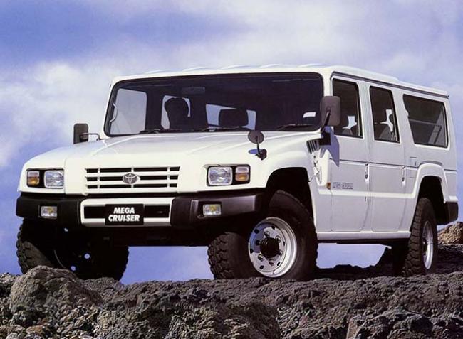 Toyota Mega Cruiser – alig ismert terepjáró-különlegesség