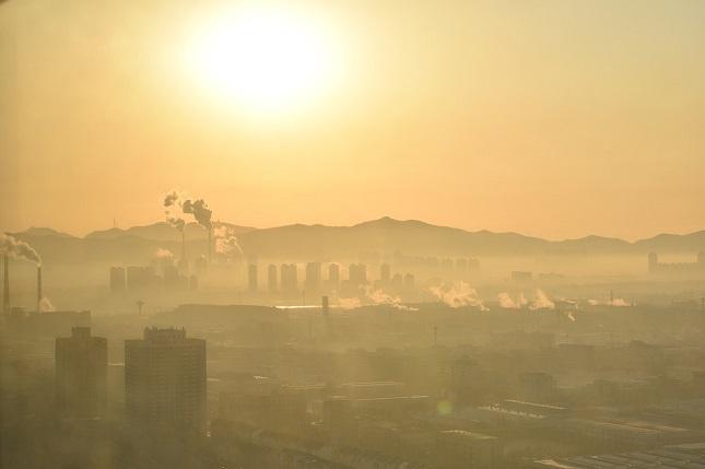 levegőszennyezés