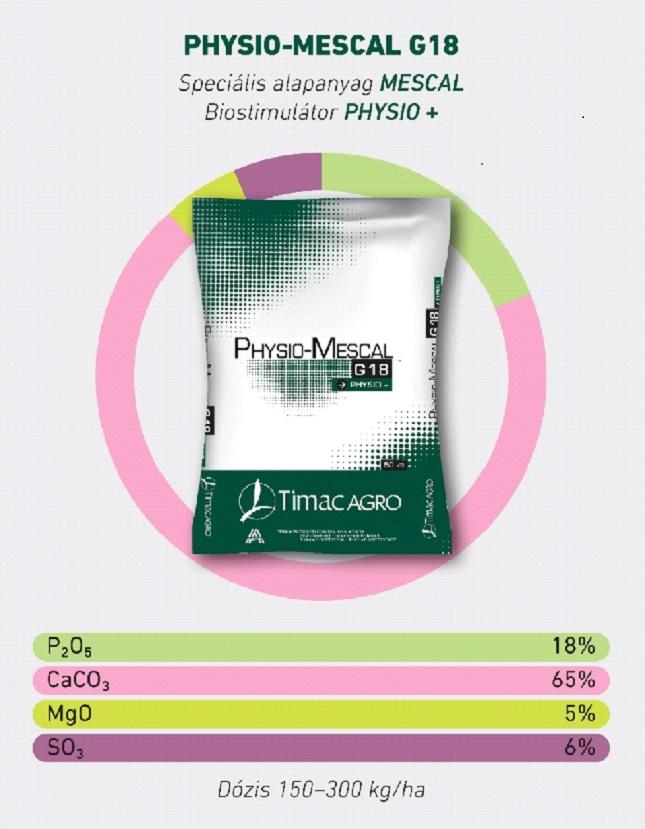 Physio-mescal g18 calcium-pótlás