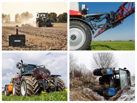 Traktorújdonságok, egy kőkemény permetezőgép és a 70 éves Valtra