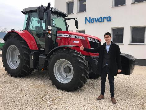 Massey Ferguson traktorokat is vásárolhatsz a Novaránál Tökölön! – Videók