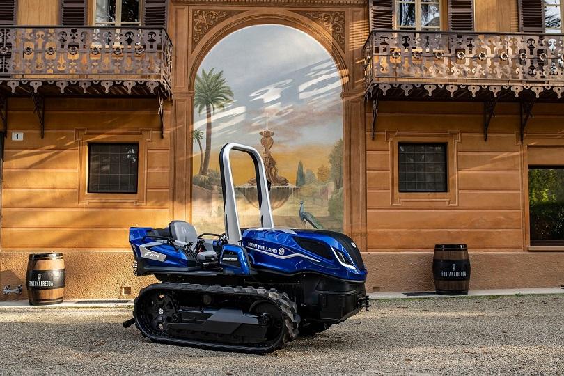 New Holland kertészeti metán traktor