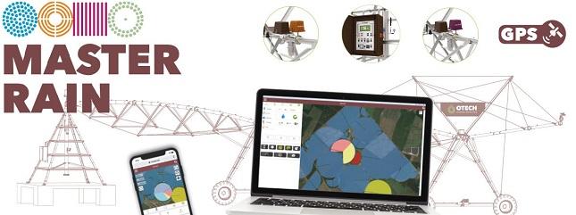 GPS-alapú technológia, okoseszközről irányítható öntözés