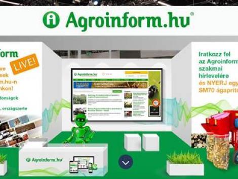 Nézz szét velünk a virtuális AGROmashEXPO-n!