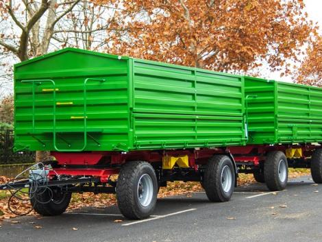Újdonság! Új Furrier pótkocsik már nettó 4 850 000 Ft-tól!