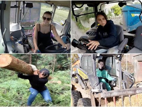 """Ezek a nők a legkeményebb """"férfimunkával"""" is megbirkóznak – Boldog nőnapot! (VIDEÓK)"""
