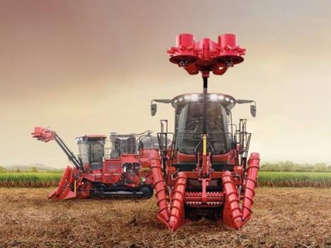 Érdekes látvány – így dolgozik egy nyertes cukornádkombájn