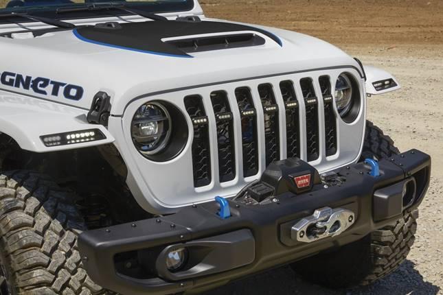 Jeep Wrangler Magneto elektromos terepjáró