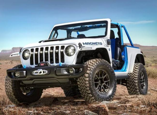 Ilyen egy terepre született elektromos harcos – itt a Jeep Wrangler Magneto