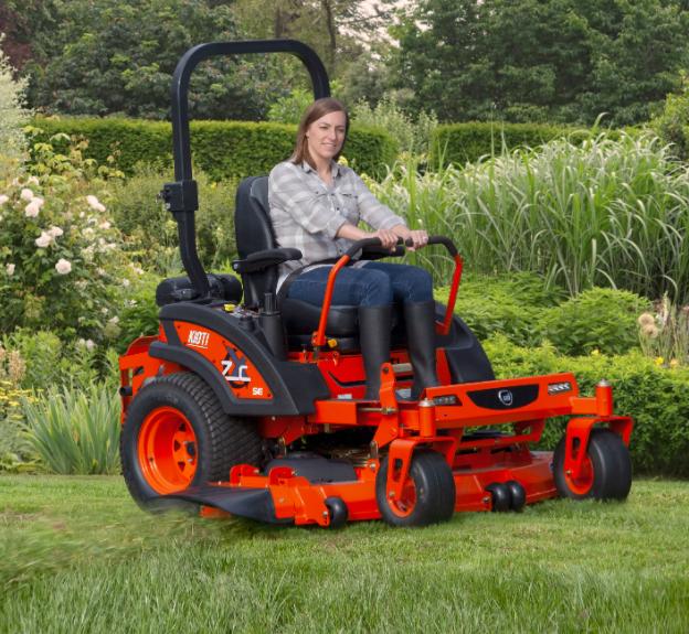 Kioti fűnyíró traktor