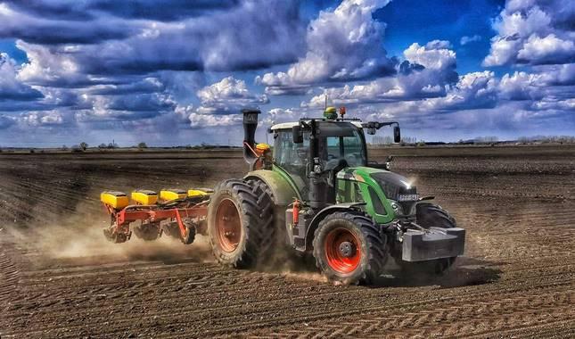 traktor, erőgép, gazda, gazdaság