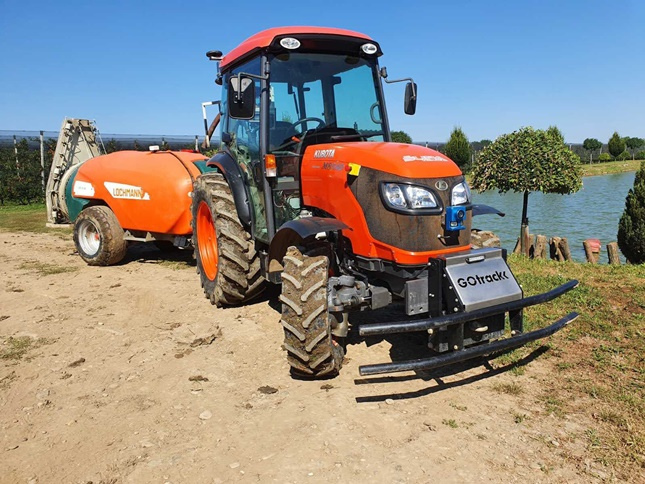 traktorból robottraktor