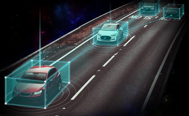 önvezető autó Trimble technológiával