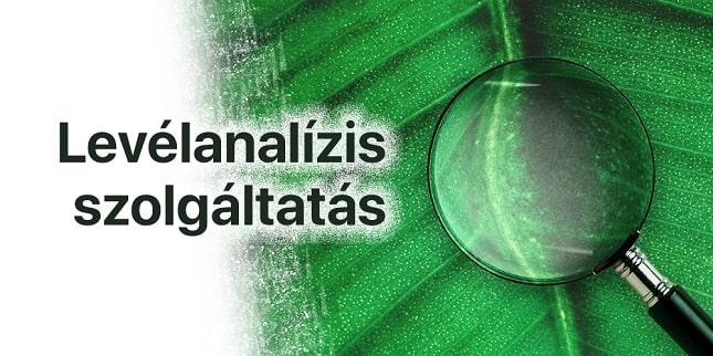 növényvédelem és növényápolás levélanalízis szolgáltatással