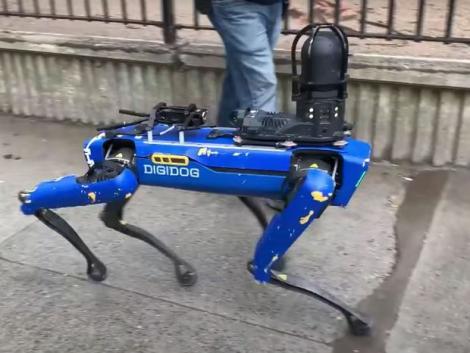 Nem dolgozik többé robotkutya a New York-i rendőrségen – Videók