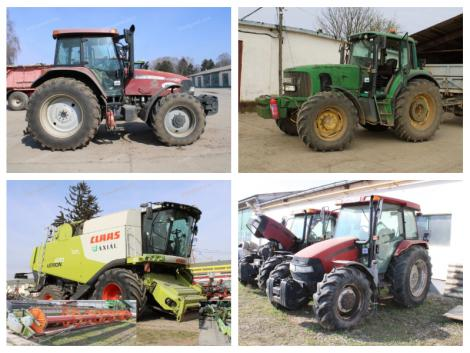 Mezőgazdasági gépárverés! Több száz tételre licitálhatsz online