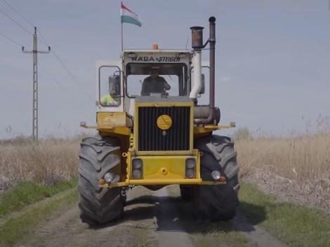 A tékozló fiú hazatért: újra Magyarországon ez a Rába Steiger – videó