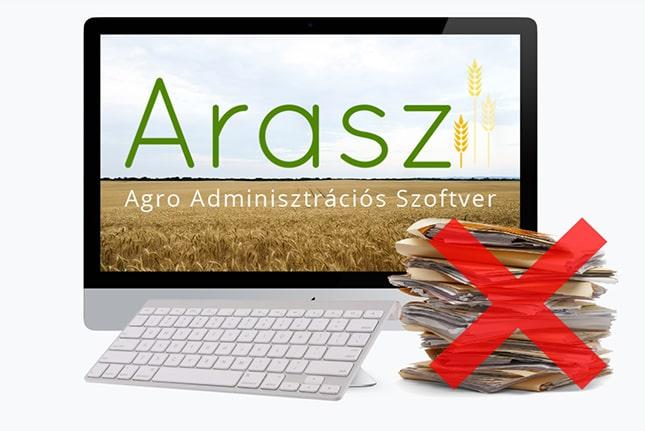 Agrár adminisztrációs szoftver