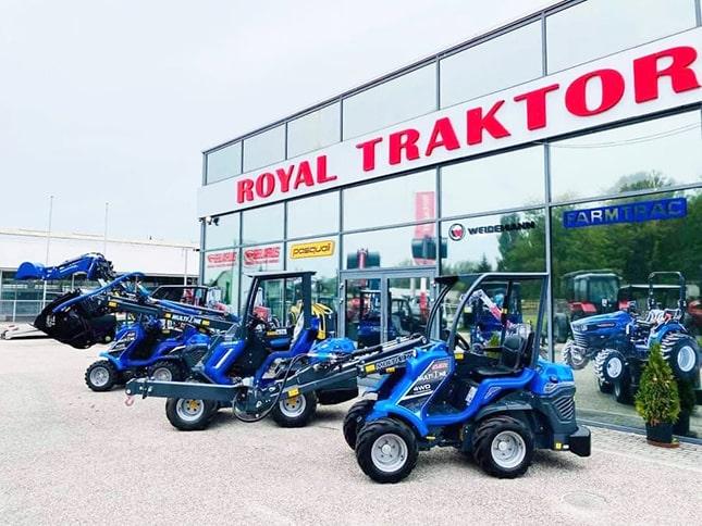 Royal Traktor kecskeméti telephely