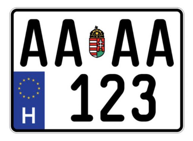 Fontos! Megváltoznak a magyar rendszámok!