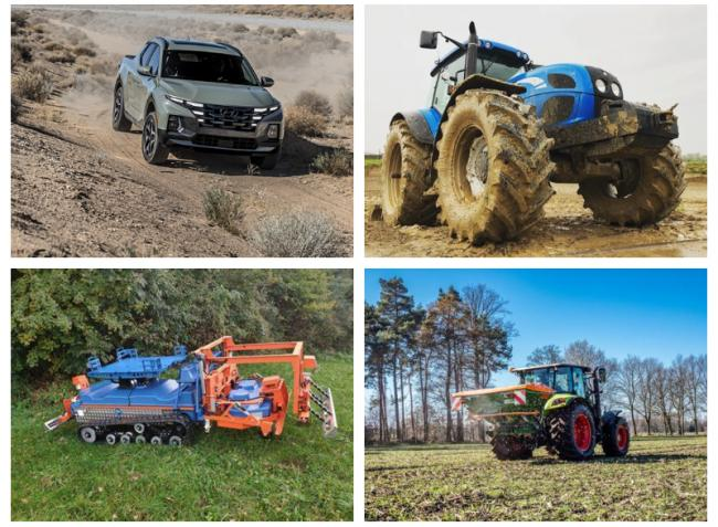 Robotizált újdonságok, kőkemény terepjárók és traktorpiaci kitekintő