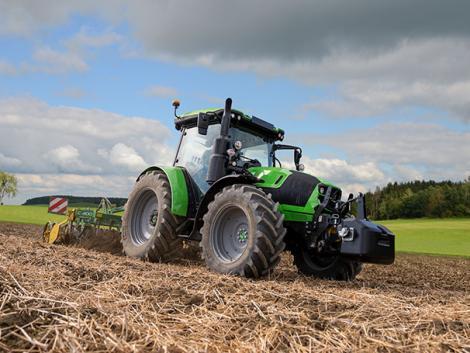 Deutz-Fahr 5-ös traktorszéria – továbbfejlesztve az Agrár 4.0 jegyében