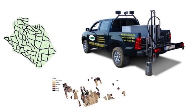 Georeferált szolgáltatás illusztráció