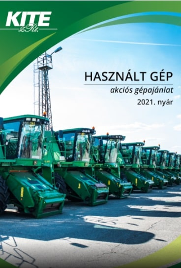 használt mezőgazdasági gép akciós ajánlat 2021. nyár